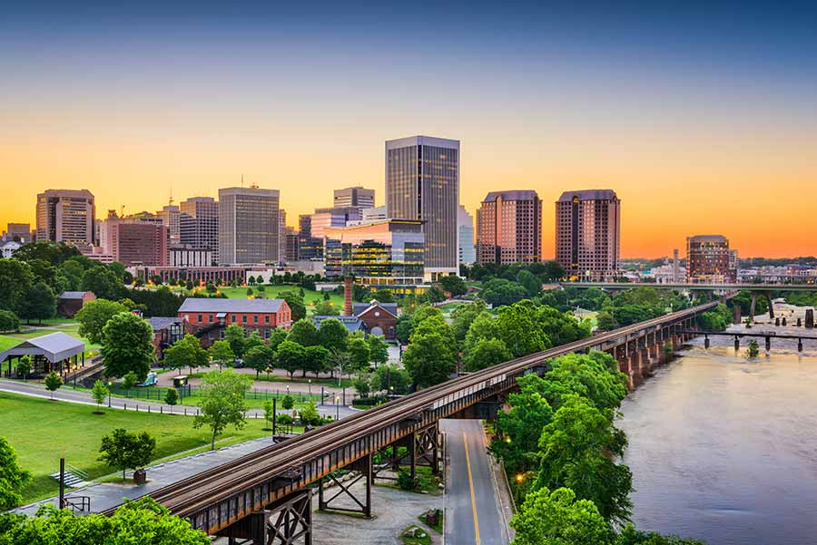 Richmond, VA skyline